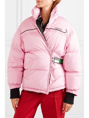 Prada printed quilted shell down jacket