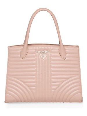 PRADA Quilted Leather Tote