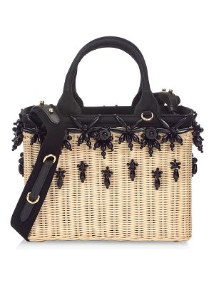 PRADA Ricamo Basket Bag