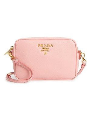 Prada saffiano leather camera bag