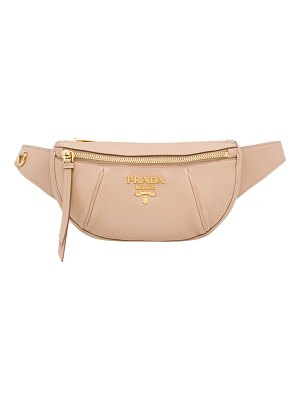 Prada Small Daino Leather Belt Bag