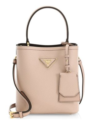 Prada small double bucket bag
