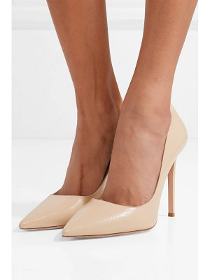 Prada textured-leather pumps