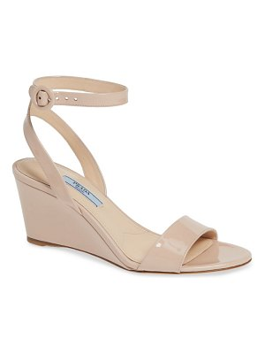 Prada wedge sandal