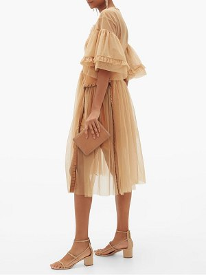 Preen By Thornton Bregazzi petra ruffled tulle dress