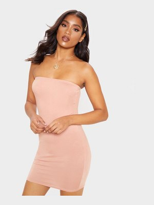 PrettyLittleThing bandeau bodycon dress