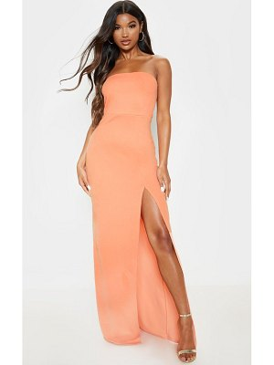PrettyLittleThing bandeau maxi dress