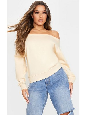 PrettyLittleThing bardot oversized sweater