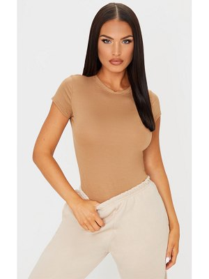 PrettyLittleThing basic jersey crew neck fitted t shirt