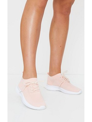 PrettyLittleThing basic knitted sneakers