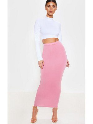 PrettyLittleThing basic maxi skirt