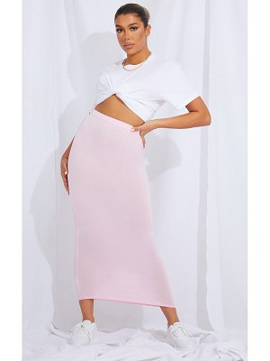 PrettyLittleThing basic midaxi skirt