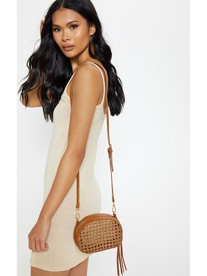 PrettyLittleThing basket cross body bag