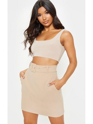 PrettyLittleThing belted a line mini skirt