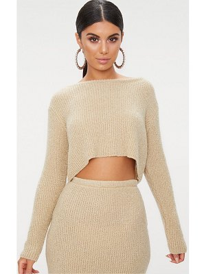 PrettyLittleThing boucle knit sweater