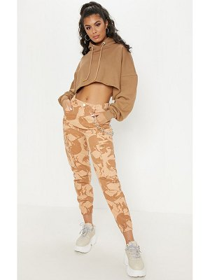 PrettyLittleThing camo cargo pocket jeans