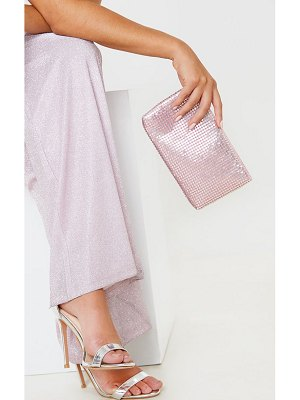 PrettyLittleThing chainmail pouch clutch bag