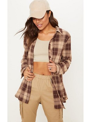 PrettyLittleThing checked shirt