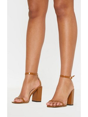 PrettyLittleThing chunky block heel strappy sandal