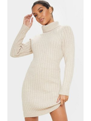 PrettyLittleThing chunky knitted sweater dress