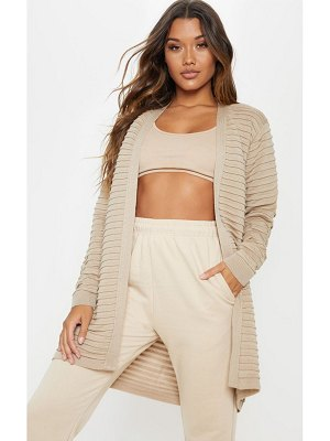 PrettyLittleThing chunky ribbed knitted cardigan