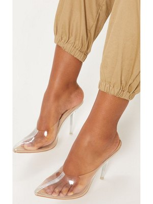 PrettyLittleThing clear mule court