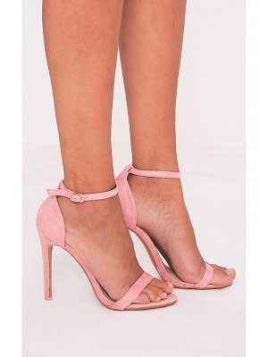 PrettyLittleThing clover strap heeled sandals
