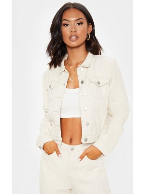 PrettyLittleThing cropped denim jacket
