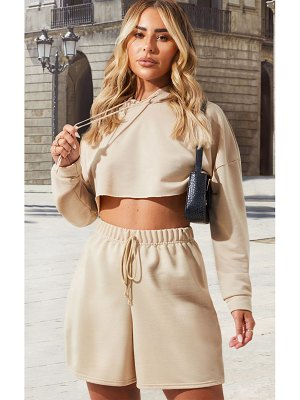 PrettyLittleThing cropped hoodie