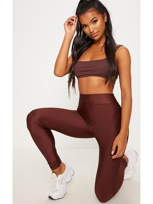 PrettyLittleThing disco highwaisted leggings