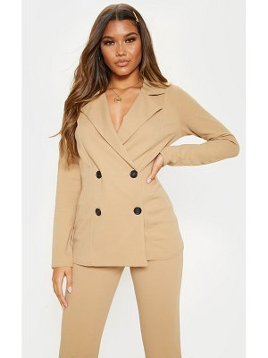 PrettyLittleThing double breasted blazer