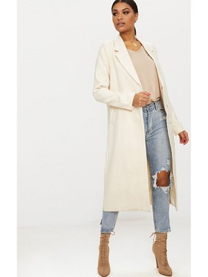 PrettyLittleThing double breasted longline coat