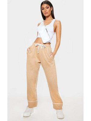 PrettyLittleThing drawstring loose fit jogger