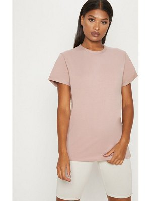 PrettyLittleThing dusty pink boyfriend t shirt