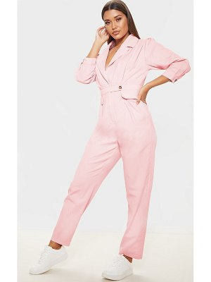 PrettyLittleThing dusty pink utility boilersuit