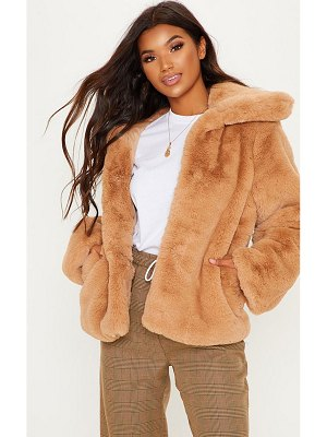 PrettyLittleThing fur jacket