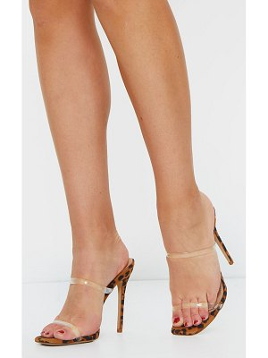 PrettyLittleThing high mule heels