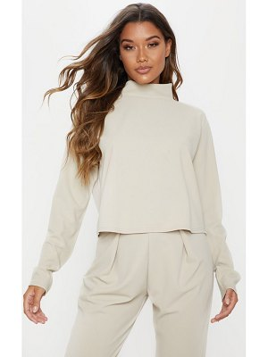 PrettyLittleThing high neck long sleeve sweater