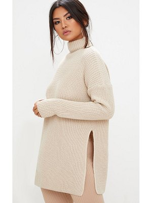 PrettyLittleThing high neck oversized sweater