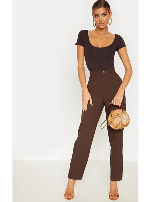 PrettyLittleThing high waisted slim leg pants