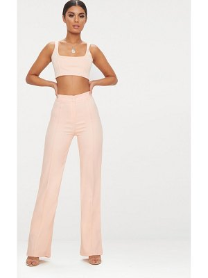 PrettyLittleThing high waisted straight leg pants