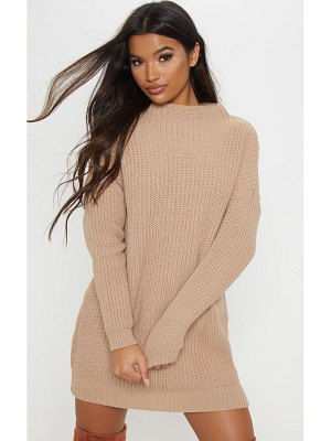 PrettyLittleThing iffy oversized cable knit dress