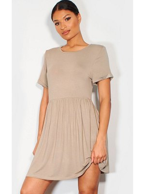 PrettyLittleThing jersey smock dress