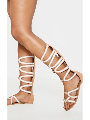 PrettyLittleThing knee high gladiator sandal