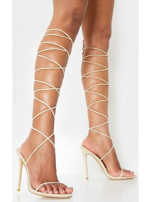 PrettyLittleThing knee high strappy sandal