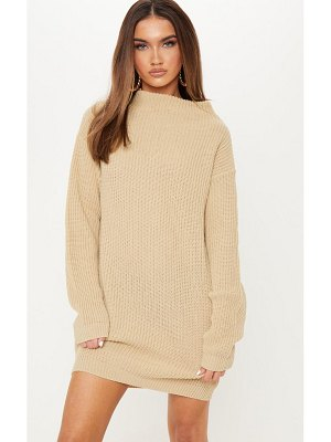PrettyLittleThing knitted long sleeve dress