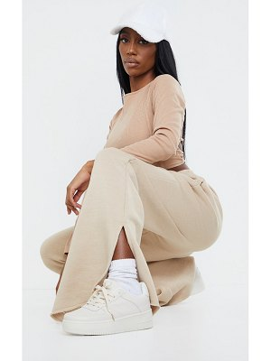 PrettyLittleThing lace up flatform sneakers
