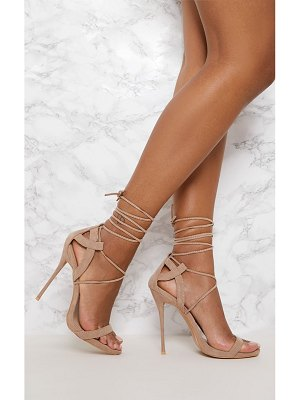 PrettyLittleThing lace up sandals