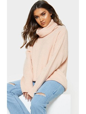 PrettyLittleThing laguna high neck knitted sweater