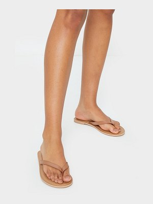 PrettyLittleThing leather contrast sole mule sandals